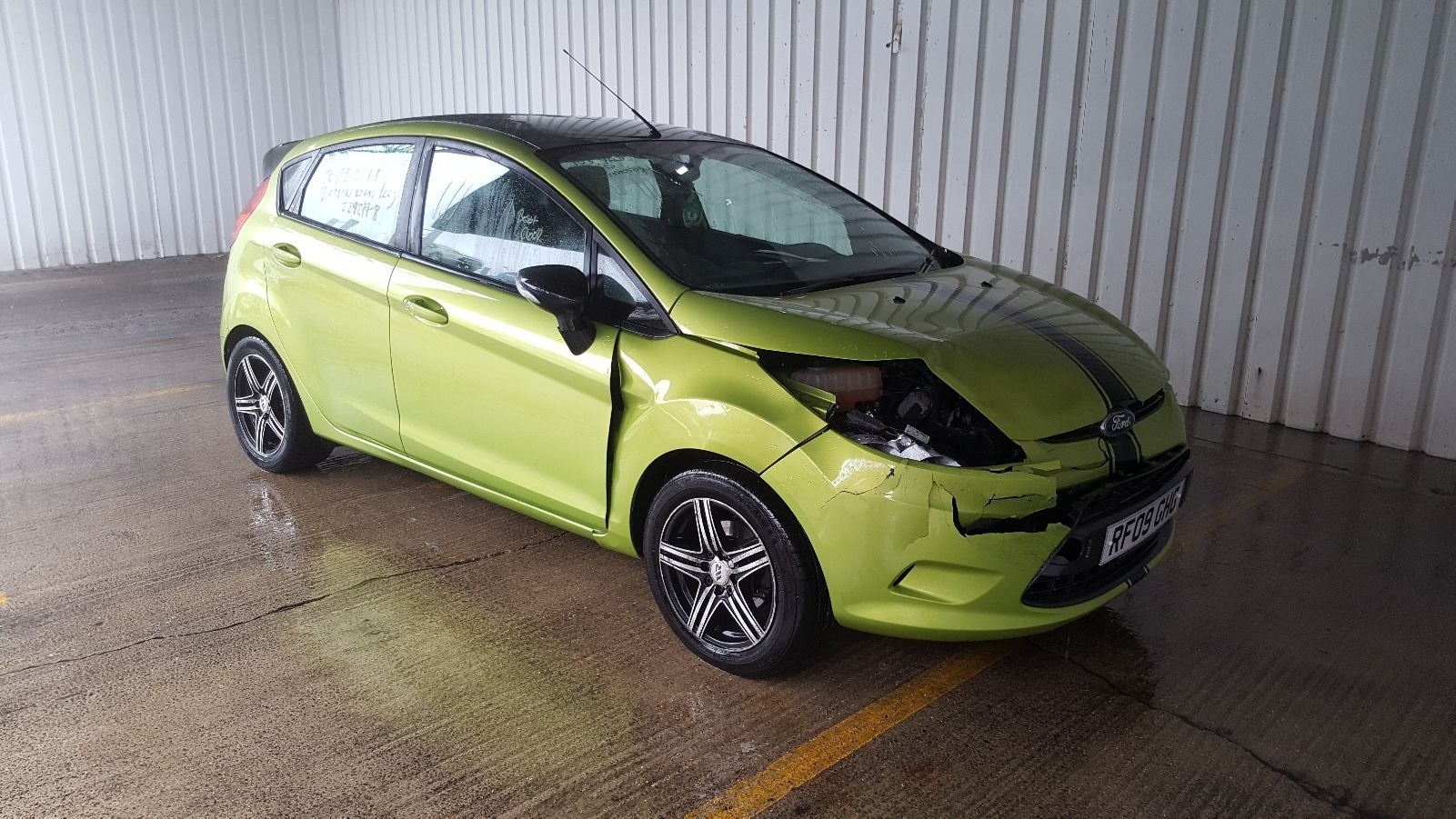 Image for a 2009 Ford Fiesta 1.6 Diesel HHJE Engine