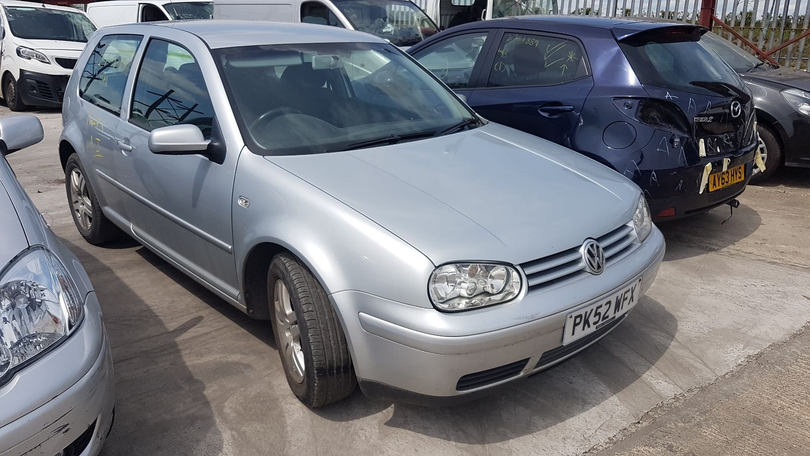 Image for a 2002 Volkswagen Golf 2 Petrol AZJ Engine