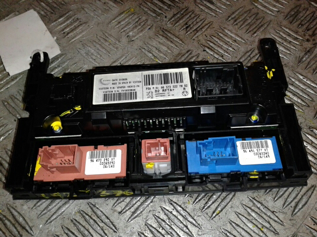 View Auto part Heater/AC Controller Peugeot 407 2006