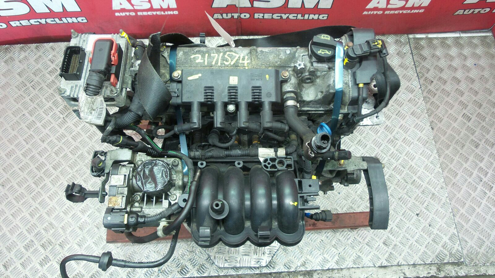 View Auto part Engine Fiat Grande Punto 2008