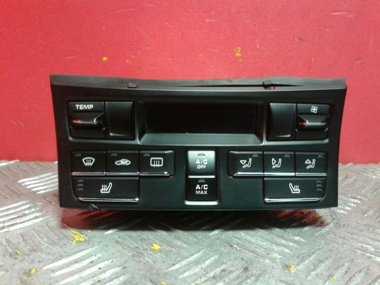 View Auto part Heater/AC Controller Porsche Cayman 2014