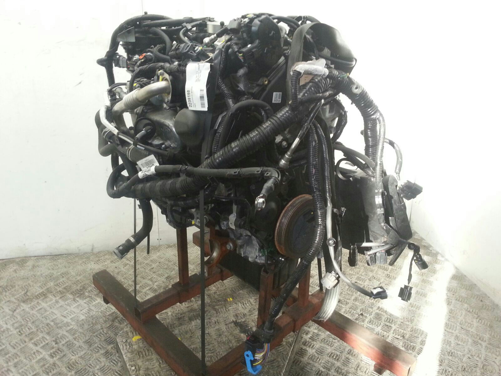 View Auto part Engine Ford Focus 2016
