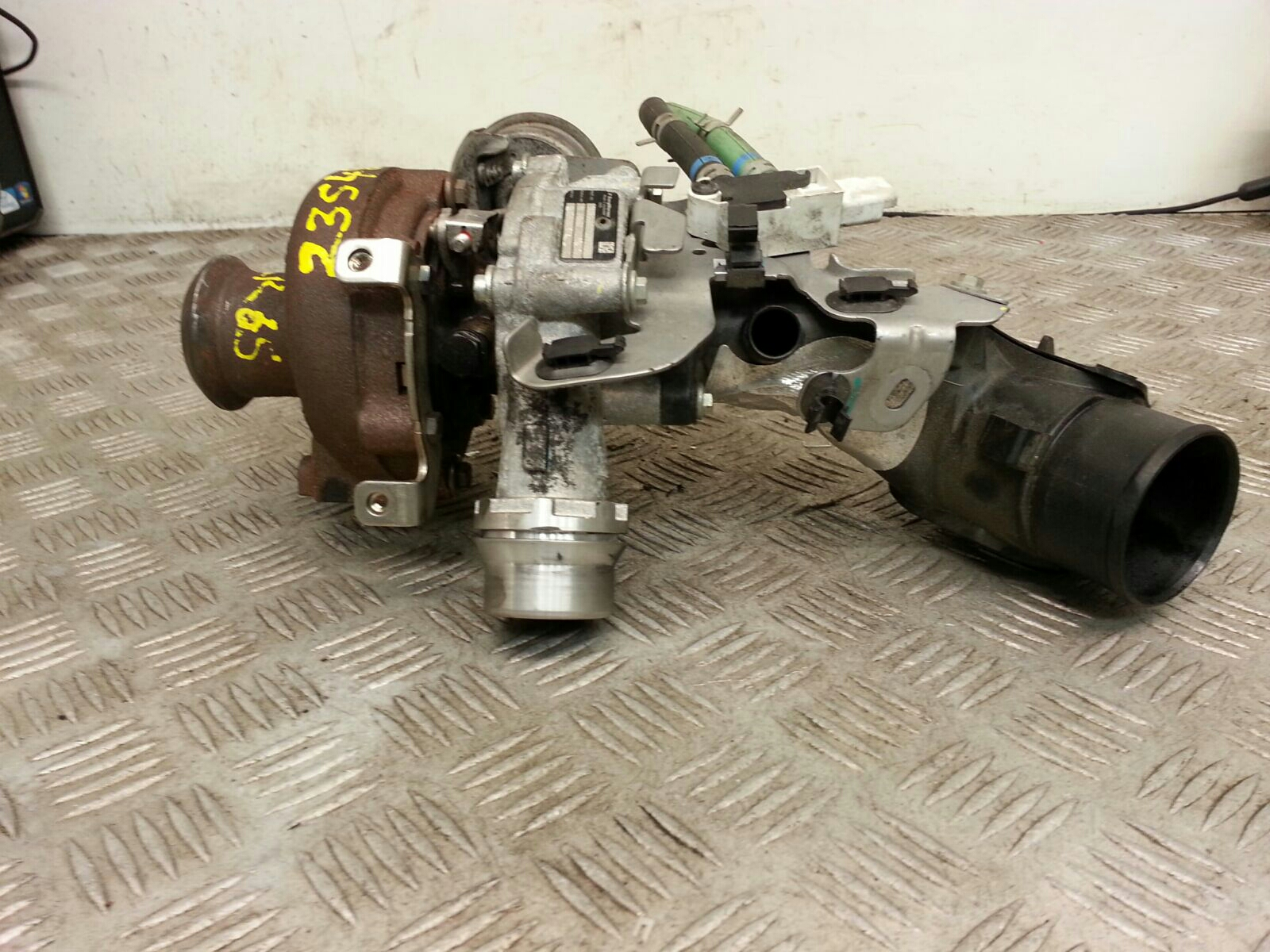 View Auto part Turbo Supercharger Renault Captur 2015