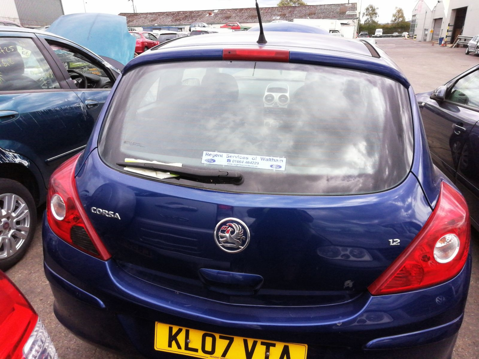 View Auto part Bootlid/Tailgate Vauxhall Corsa 2007