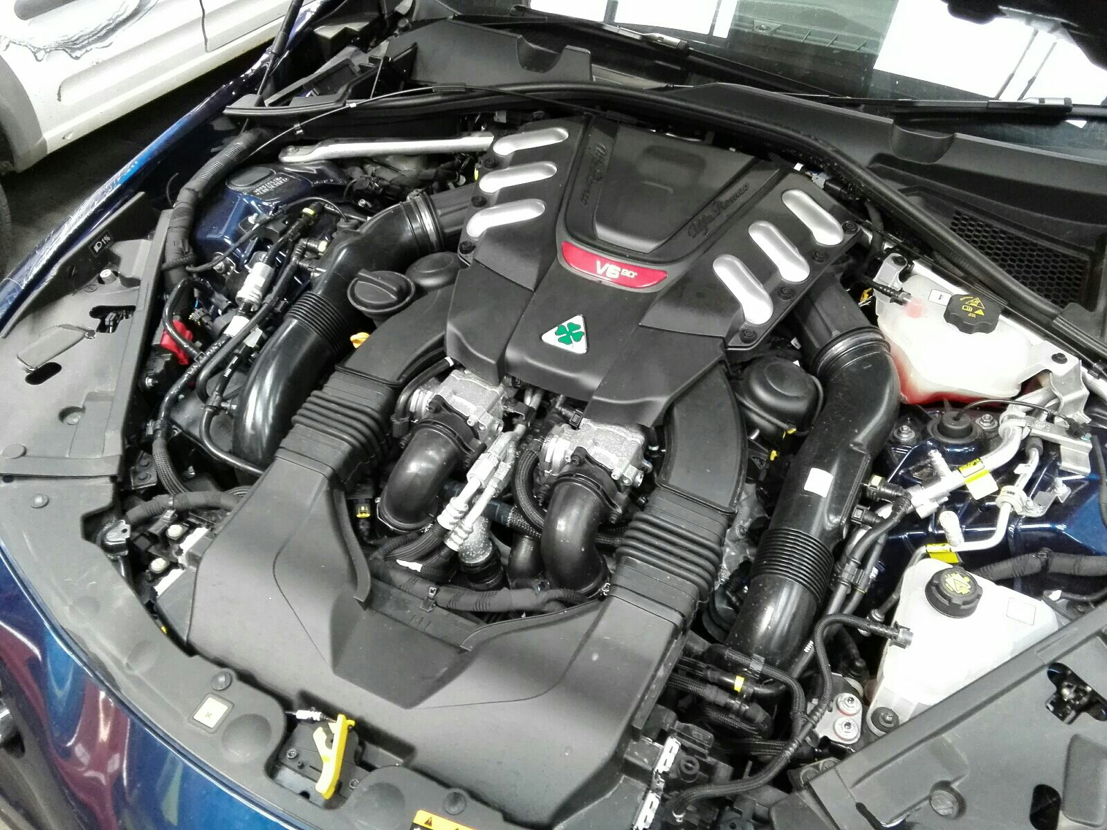 View Auto part Engine Alfa Romeo Giulia 2017