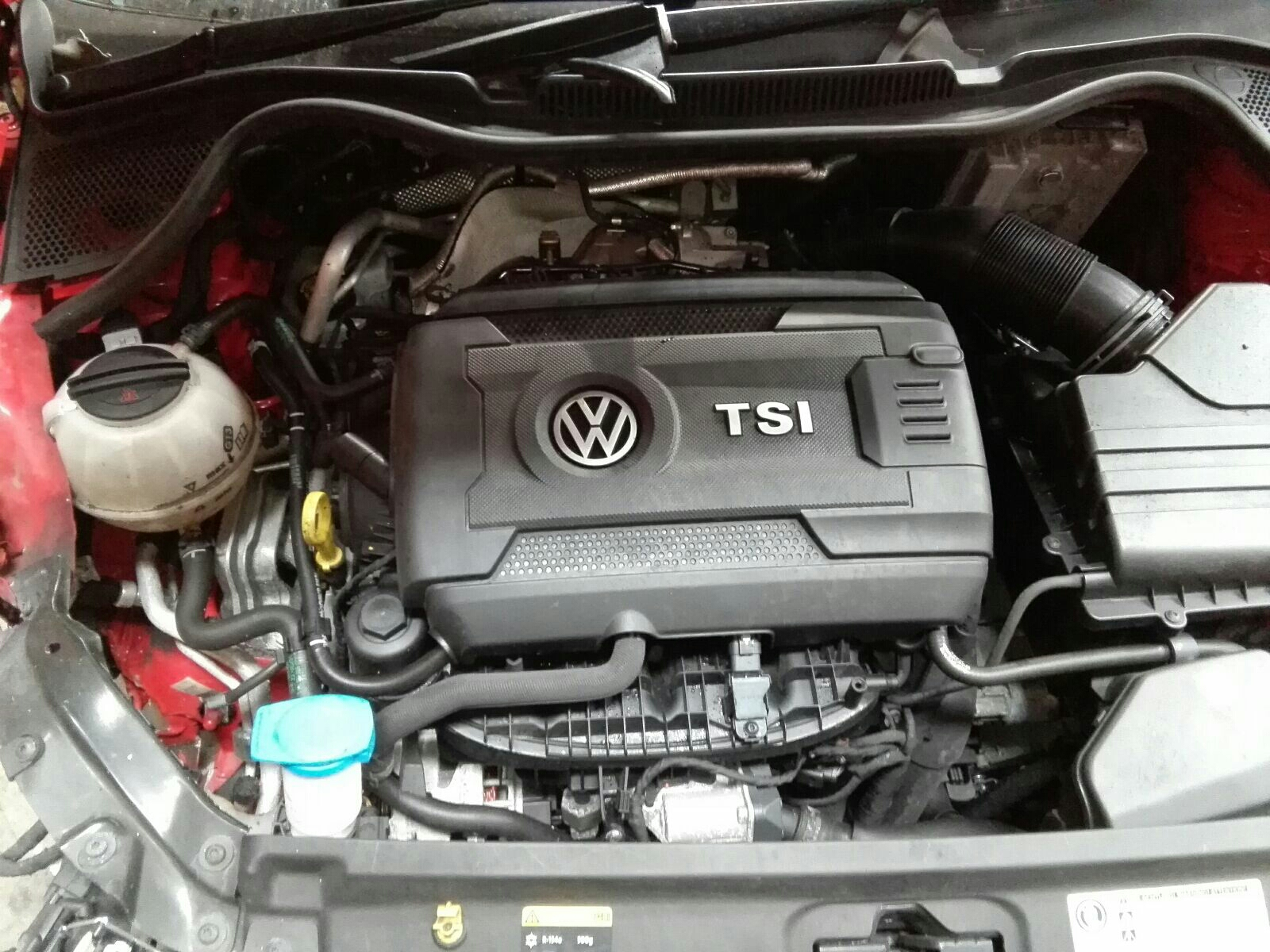 View Auto part Engine Volkswagen Polo 2015