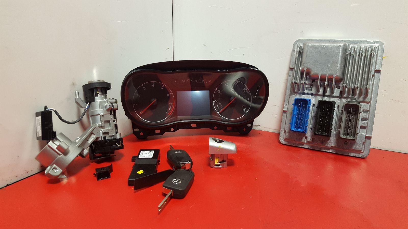 View Auto part Comp.Lock Set + Keys Vauxhall Corsa 2015