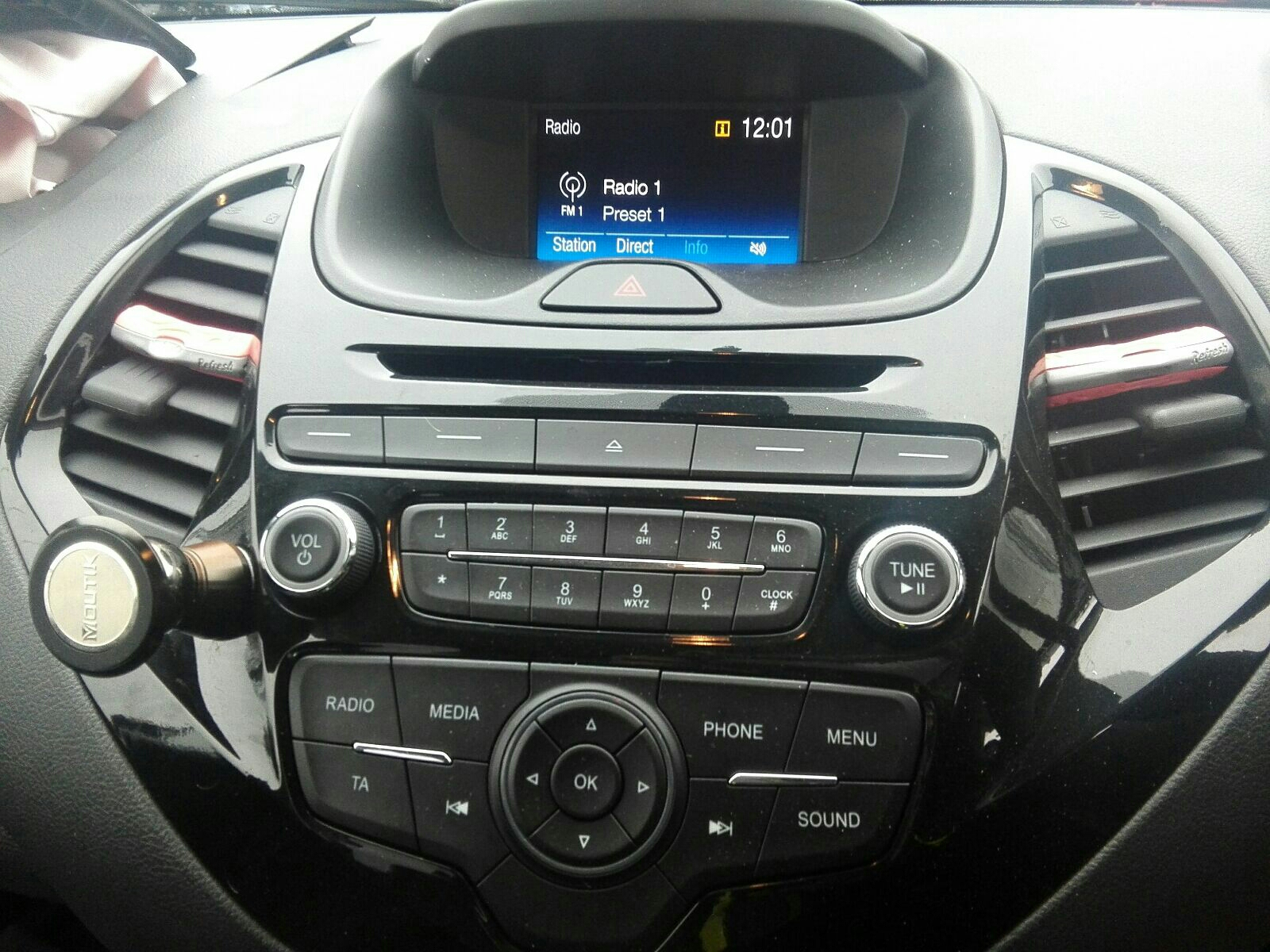 View Auto part A/V Equipment Ford Ka+ 2018