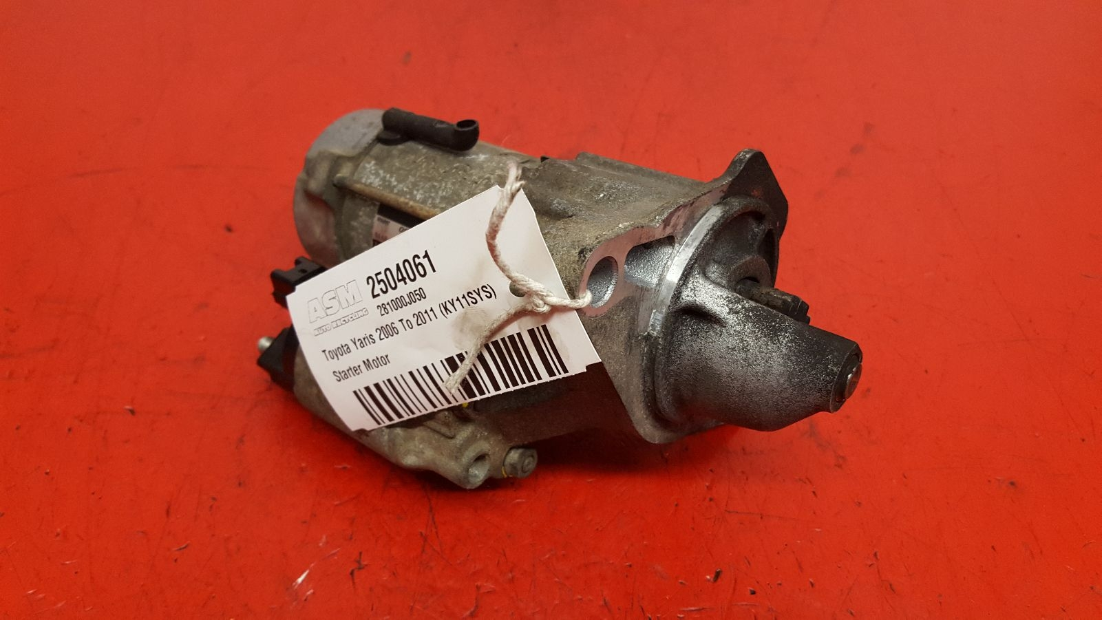 View Auto part Starter Motor Toyota Yaris 2011