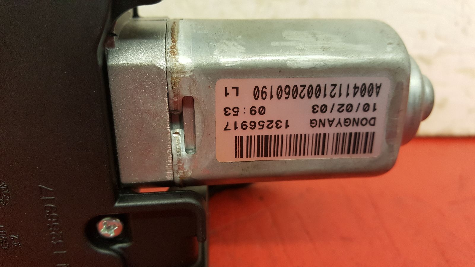View Auto part Wiper Motor Rear Vauxhall Astra 2010