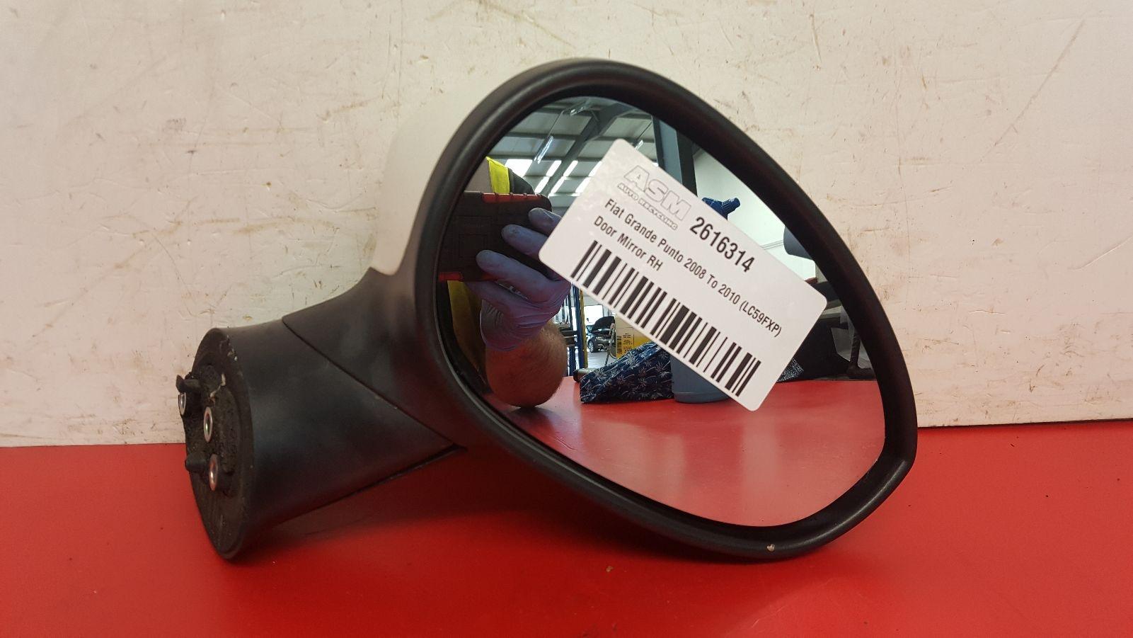 View Auto part R Door Mirror Fiat Grande Punto 2009