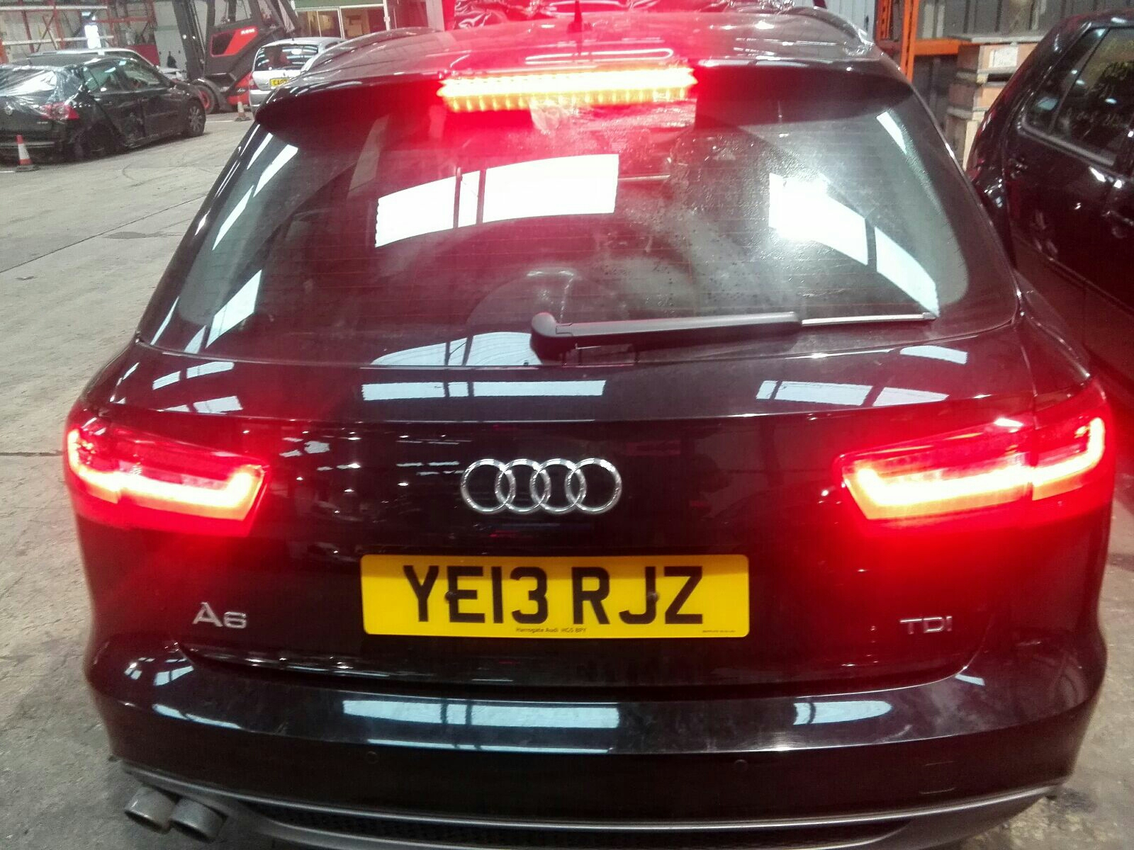 View Auto part Bootlid/Tailgate Audi A6 2013