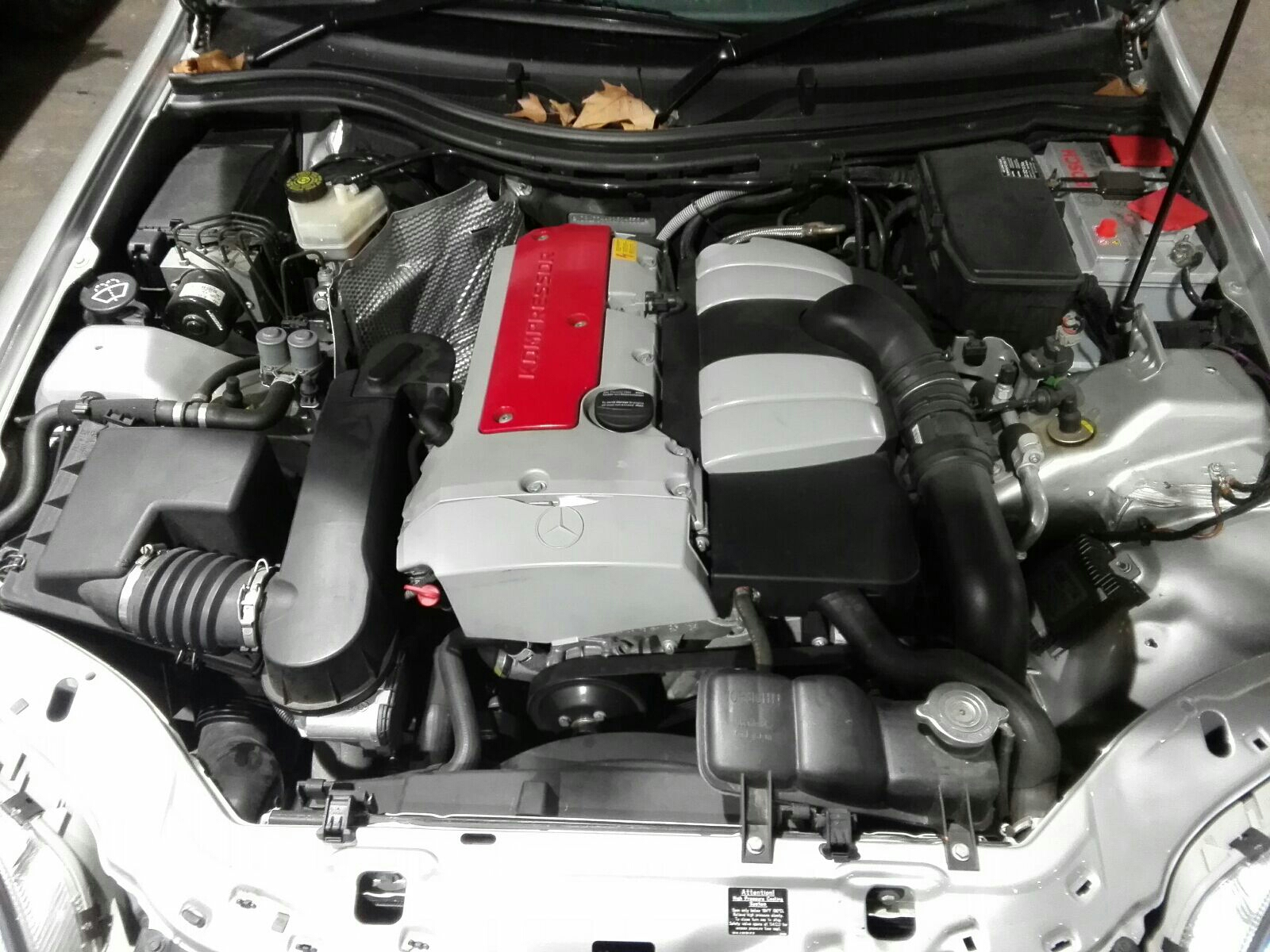 View Auto part Engine Mercedes Slk 2001