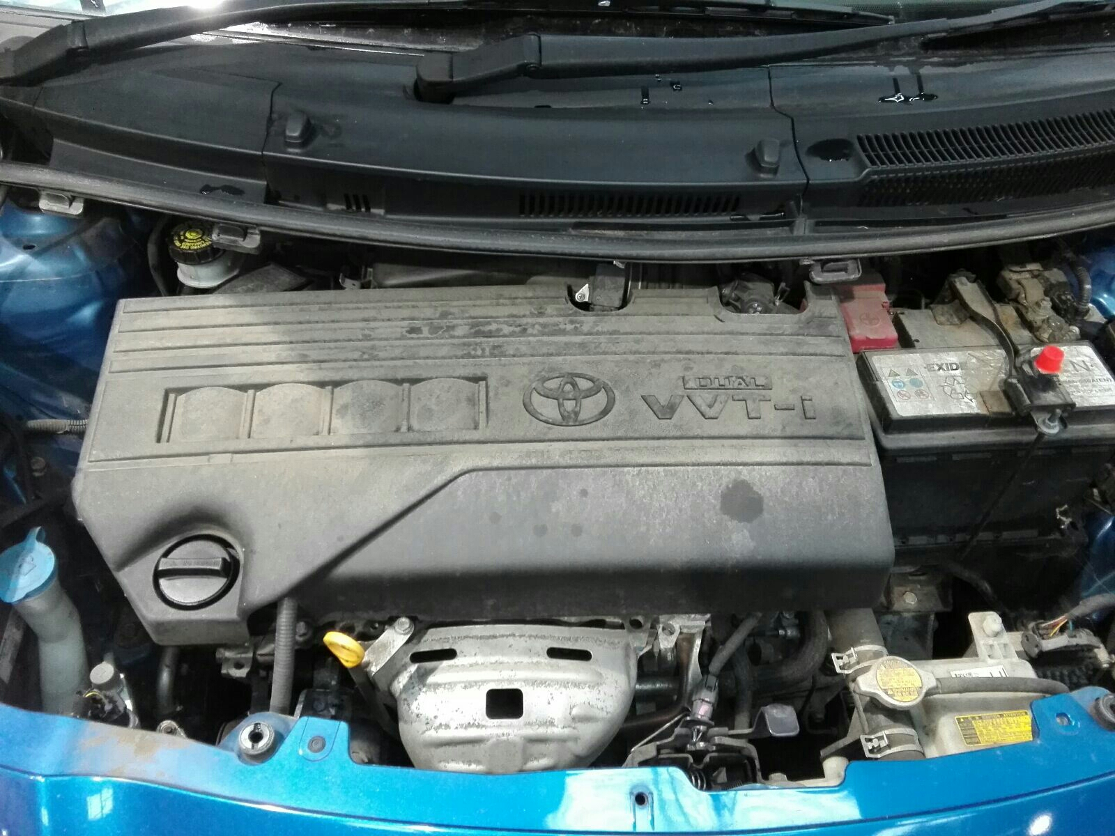 View Auto part Engine Toyota Yaris 2011
