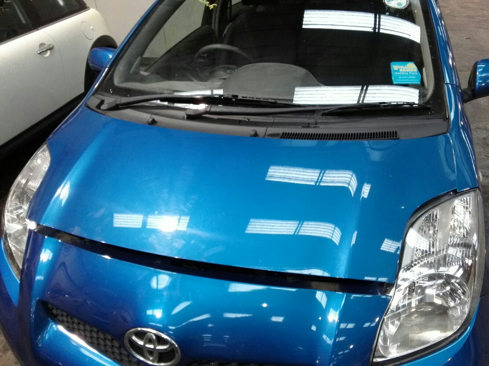 View Auto part Bonnet Toyota Yaris 2011