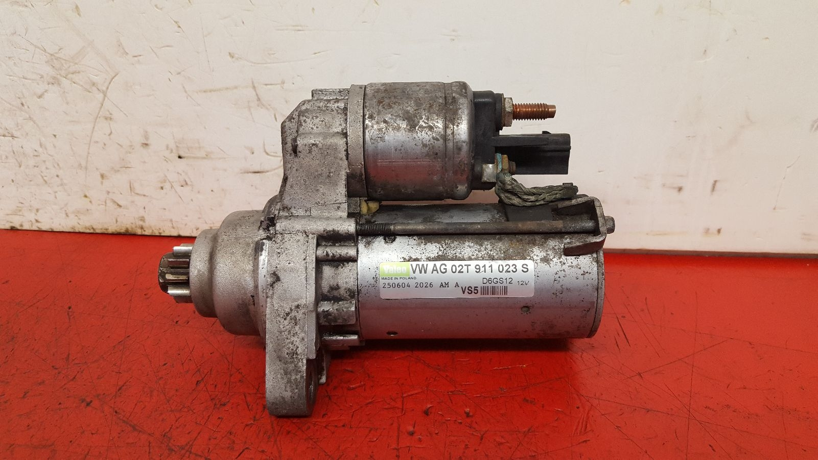 View Auto part Starter Motor Audi A3 2004