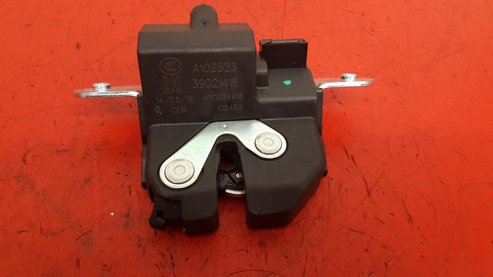 View Auto part Bootlid/Tailgate Lock Vauxhall Corsa 2016