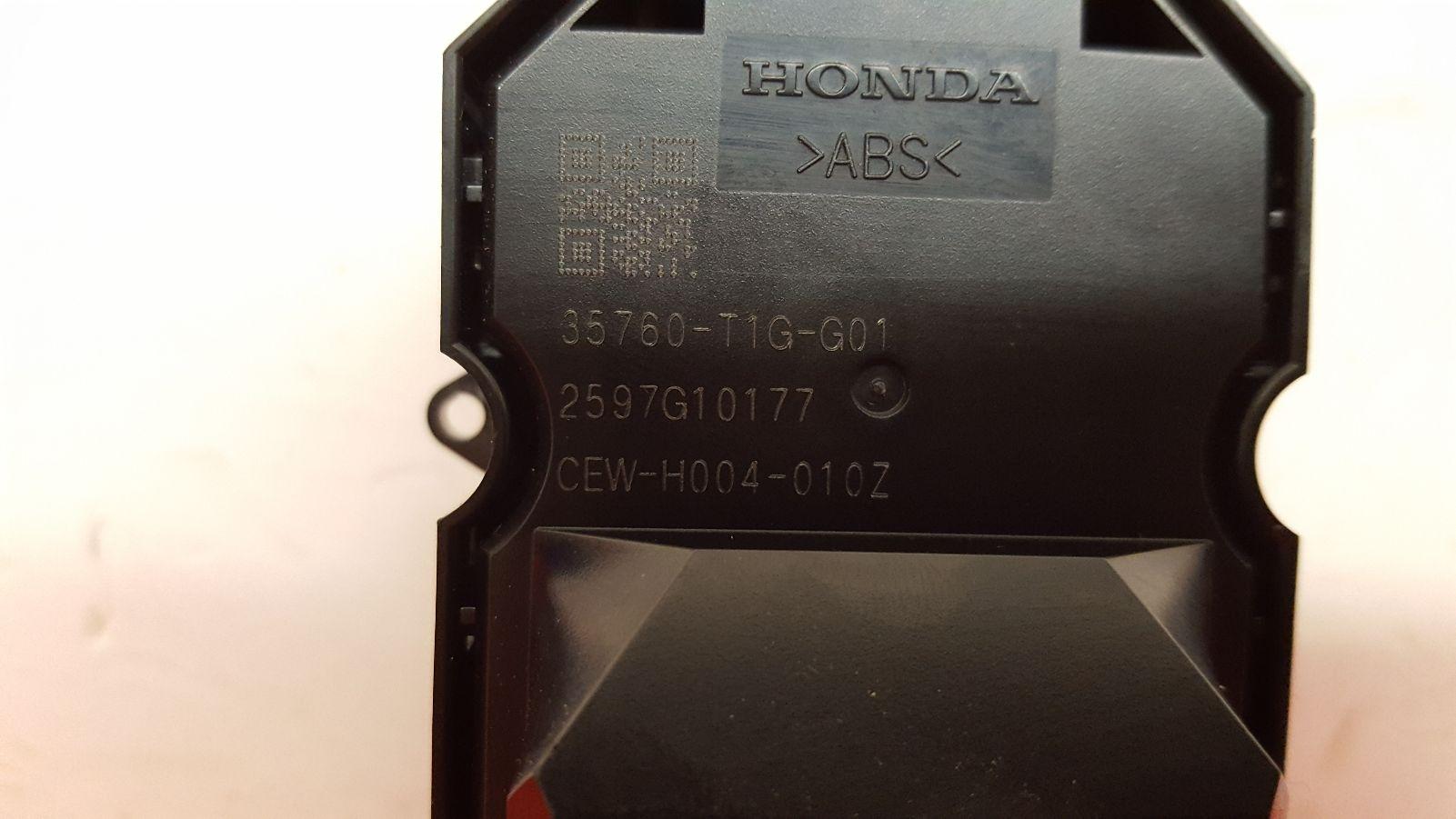 View Auto part Elect. Window Switch Honda Crv 2018