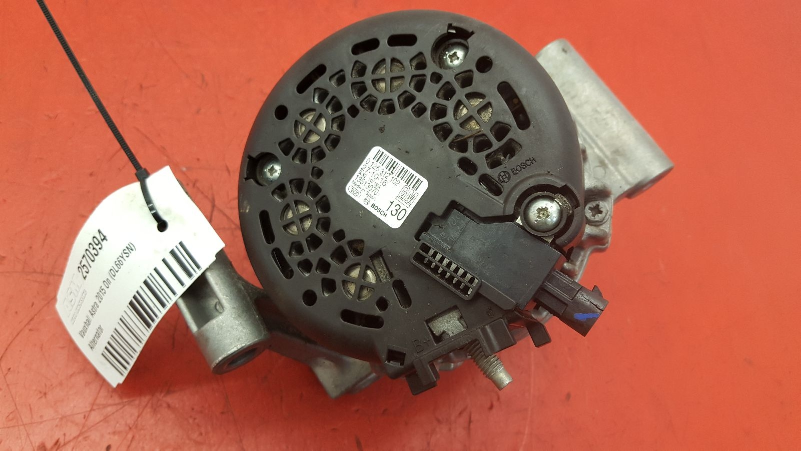 View Auto part Alternator Vauxhall Astra 2016