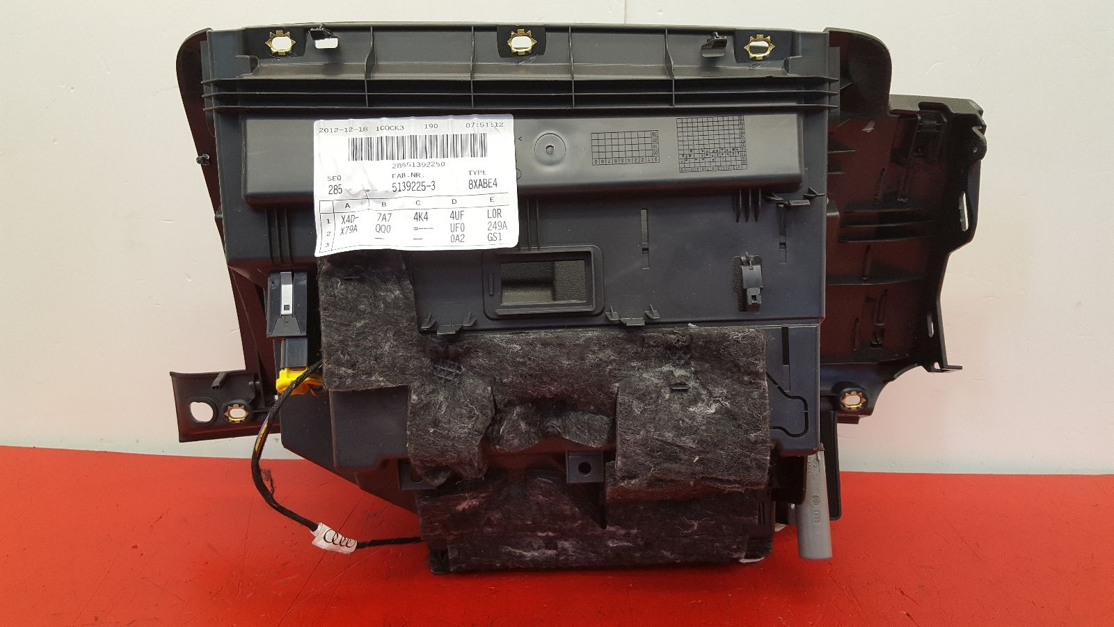 View Auto part Glove Box Audi A1 2014